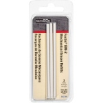 General's® Factis® Mechanical Eraser Refills: Plastic, Refill, (model BM2-3RBP), price per each