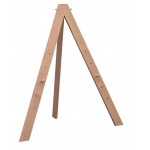 Cappelletto Modern Folding Display Easel: Wood, Display, (model CES10), price per each