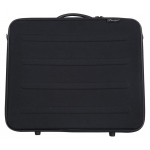 "Prestige™ Rugged Pro Deluxe Portfolio 14"" x 18"": Black/Gray, 2 1/4"", Vinyl, 14"" x 18"", (model EVM1418), price per each"