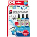 Marabu Color Trend Fashion-Spray Set Cool Denim, (model M17199000084), price per set