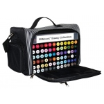 Spectrum Noir™ Crafter's Companion Small Storage Bag: 72 Markers, Black/Gray, Nylon, Case, (model SBAG-S), price per each