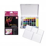 Koi™ Watercolor Paint Pocket Field Sketch 30-Color Set: Multi, Paint, Watercolor