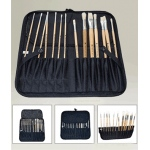 Weber Easel Back Brush Case, Black: Model # 66-JS1702