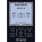"Arches® ARCHES 88  22X30 300G (10): White/Ivory, Sheet, 22"" x 30"", Smooth, (model 1795153), price per sheet"