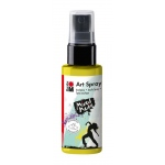 Marabu Art Spray Lemon: Yellow, Bottle, 50 ml, Acrylic, (model M12099005020), price per each