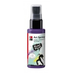 Marabu Art Spray Plum: Purple, Bottle, 50 ml, Acrylic, (model M12099005037), price per each