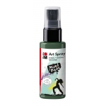 Marabu Art Spray Khaki: Green, Bottle, 50 ml, Acrylic, (model M12099005041), price per each