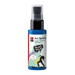Marabu Art Spray Gentian: Blue, Bottle, 50 ml, Acrylic, (model M12099005057), price per each