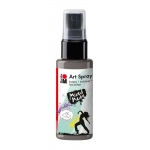 Marabu Art Spray Grey: Black/Gray, Bottle, 50 ml, Acrylic, (model M12099005078), price per each