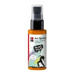 Marabu Art Spray Tangerine: Orange, Bottle, 50 ml, Acrylic, (model M12099005225), price per each