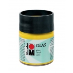 Marabu Glas Paint Sunshine Yellow 50ml: Yellow, Jar, 50 ml, Glass