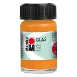 Marabu Glas Paint Orange 15ml : Orange, Jar, 15 ml, Glass, (model M13069039013), price per each