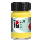 Marabu Glas Paint Lemon 15ml : Yellow, Jar, 15 ml, Glass