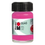 Marabu Glas Paint Rose Pink 15ml : Red/Pink, Jar, 15 ml, Glass, (model M13069039033), price per each