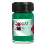 Marabu Glas Paint Dark Green 15ml : Green, Jar, 15 ml, Glass, (model M13069039068), price per each