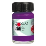 Marabu Glas Paint Amethyst 15ml : Purple, Jar, 15 ml, Glass, (model M13069039081), price per each