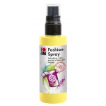 Marabu Fashion Spray Lemon 100ml : Yellow, Bottle, 100 ml, Fabric, (model M17199050020), price per each