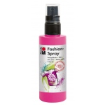 Marabu Fashion Spray Pink 100ml : Red/Pink, Bottle, 100 ml, Fabric, (model M17199050033), price per each