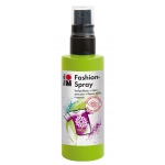 Marabu Fashion Spray Reseda 100ml : Green, Bottle, 100 ml, Fabric, (model M17199050061), price per each