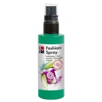 Marabu Fashion Spray Mint 100ml: Green, Bottle, 100 ml, Fabric, (model M17199050153), price per each