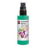 Marabu Fashion Spray Apple 100ml: Green, Bottle, 100 ml, Fabric, (model M17199050158), price per each