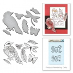 Spellbinders - Stamp & Die Set - Sparrow