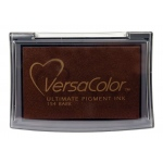 VersaColor™ Pigment Ink Pad Bark: Brown, Pad, Pigment, Full Size Rectangle, (model VC154), price per each
