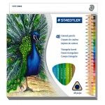 Staedtler® Triangular Colored Pencils 48-Set: Multi, Pencil, 24 Pencils, Colored, (model 1270C48), price per set