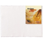 "Arches® 22"" x 30"" 300 lb./640g Cold Press Watercolor Sheets Natural White, (model 1795010), price per sheet"