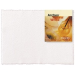 "Arches® 22"" x 30"" 140 lb./300 g Rough Watercolor Sheets Natural White: White/Ivory, Sheet, 10 Sheets, 22"" x 30"", Rough, (model 1795027), price per sheet"