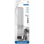 Staedtler® Charcoal Pencil Set: Assorted, 2B, 4B, 6B, Pencil, Charcoal, (model 280SBK1A), price per set