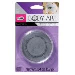 Tulip® Body Art™ Metallic Silver Paint: Metallic, Jar, 18 g, (model D28817), price per each