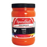 Speedball® Fabric Screen Printing Ink Orange : Orange, Jar, Fabric, 32 oz, Screen Printing, (model 4609), price per each