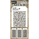 Stampers Anonymous - Tim Holtz - Mini Stencil Set #26
