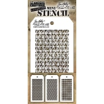 Stampers Anonymous - Tim Holtz - Mini Stencil Set #27