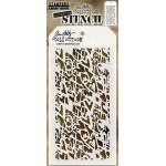 Stampers Anonymous - Tim Holtz - Heartstruck Stencil