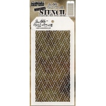 Stampers Anonymous - Tim Holtz - Woven Stencil