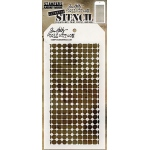 Stampers Anonymous - Tim Holtz - Grid Dot Stencil