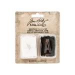 Advantus - Tim Holtz - Ideaology - Transparent Tiles - Alpha