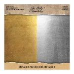 Advantus - Tim Holtz - Ideaology - Kraft Paper - Stock - Metallic