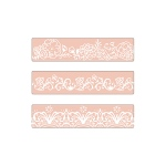 Sizzix - Textured Impressions Embossing Folders 3 Pack - Border Set by David Tutera