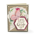 Sizzix - Framelits Die Set 11 Pack with Stamps - Thanks for Being You by Katelyn Lizardi
