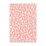 Sizzix - Textured Impressions Embossing Folder - Flower Embellishments by Katelyn Lizardi