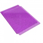 Sizzix - Cutting Pads - Standard - 1 Pair - Purple with Silver Glitter
