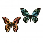 Sizzix - Thinlits Die Set 4 Pack - Detailed Butterflies - Mini by Tim Holtz