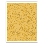 Sizzix - Texture Fades Embossing Folder - Flourish by Tim Holtz