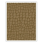 Sizzix - Texture Fades Embossing Folder - Croc by Tim Holtz