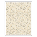 Sizzix - Texture Fades Embossing Folder - Lace by Tim Holtz