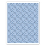 Sizzix - Texture Fades Embossing Folder - Latticework by Tim Holtz