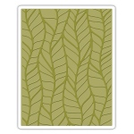 Sizzix - Texture Fades Embossing Folder - Leafy by Tim Holtz